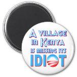 Un pueblo en Kenia está faltando a su idiota Obama Imán Para Frigorífico