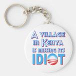 Un pueblo en Kenia está faltando a su idiota Obama Llaveros Personalizados