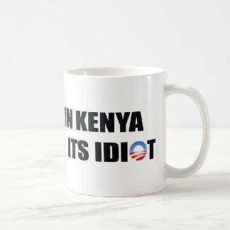 Un pueblo en Kenia está faltando a su idiota Taza Básica Blanca