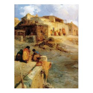 Un pueblo indio Laguna New México - 1906 Postales