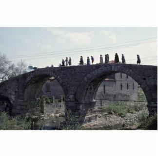Un puente del tiempo esculturas fotograficas