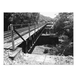 Un puente….Impresión de la foto Cojinete