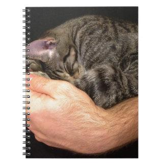 Un puñado de soñoliento note book