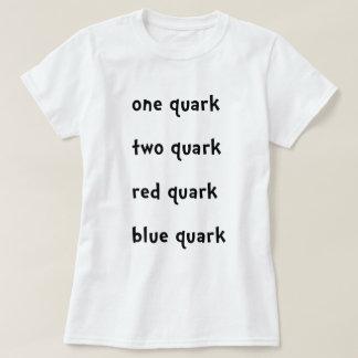 Un Quark rojo del azul del Quark del Quark del Playera