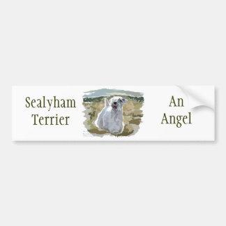 ¡Un qué ángel! Etiqueta De Parachoque