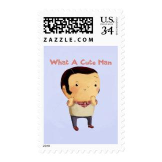 Un qué hombre lindo… sello