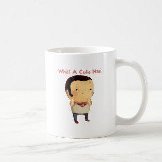 Un qué hombre lindo… tazas de café