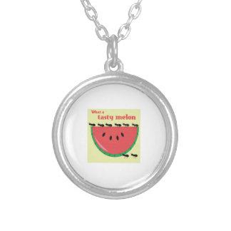 Un qué melón sabroso joyerias personalizadas