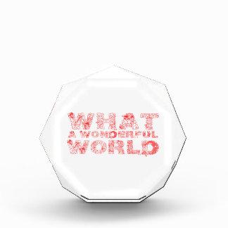 Un qué mundo maravilloso