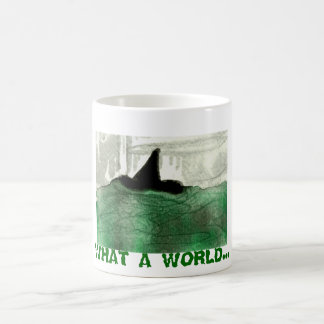 Un qué mundo taza de café