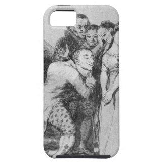 ¡Un qué sacrificio! por Francisco Goya iPhone 5 Funda