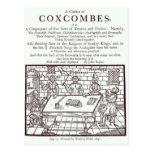 Un racimo de Coxcombes de John Taylor Postales