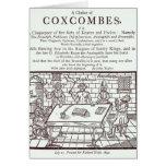 Un racimo de Coxcombes de John Taylor Tarjeta De Felicitación