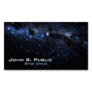 Un racimo de estrellas tarjetas de visita magnéticas (paquete de 25)