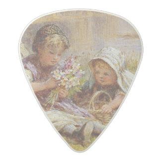 Un ramillete para la madre, 1867 púa de guitarra acetal
