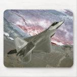 Un rapaz F/A-22 vuela una misión de entrenamiento Tapete De Raton