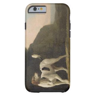 Un raposero, c.1760 (aceite en el papel puesto a funda de iPhone 6 tough