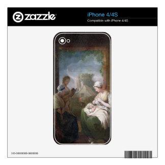 Un rato reservado, c.1810 (aceite en lona) calcomanías para iPhone 4S