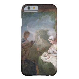 Un rato reservado, c.1810 (aceite en lona) funda barely there iPhone 6