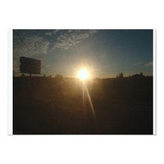 """Un rayo de la sol invitación 5"""" x 7"""""""