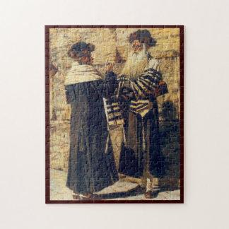 Un Rebbe en el Kotel por Vereshchagin - circa 1880 Rompecabezas Con Fotos