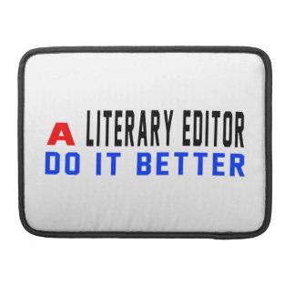 Un redactor literario mejora funda para macbooks