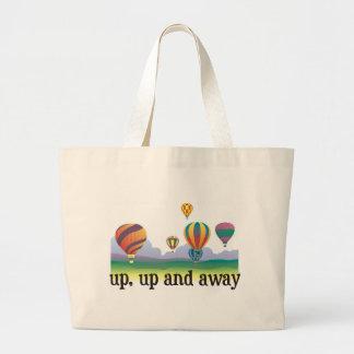 Un regalo colorido del vuelo del globo - el aire c bolsa tela grande