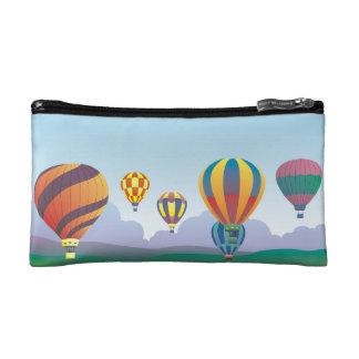 Un regalo colorido del vuelo del globo - el aire c