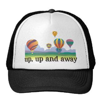 Un regalo colorido del vuelo del globo - el aire c gorra