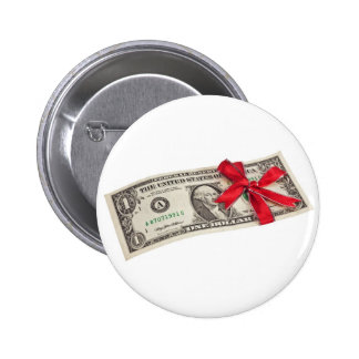 Un regalo del dólar pins
