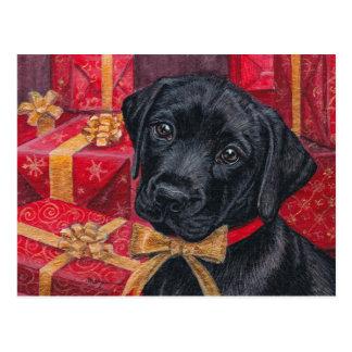 Un regalo para usted ennegrece la postal del navid