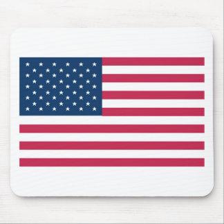 Un regalo verdaderamente patriótico: Bandera ameri Alfombrillas De Ratones
