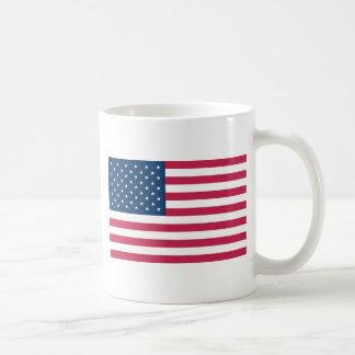 Un regalo verdaderamente patriótico: Bandera ameri Taza De Café