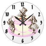 Un reloj de pared original de la fiesta del té eno