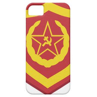Un remiendo soviético del regimiento del rifle de  iPhone 5 carcasa