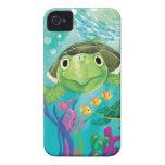 Un rescate de la tortuga de mar iPhone 4 cárcasas