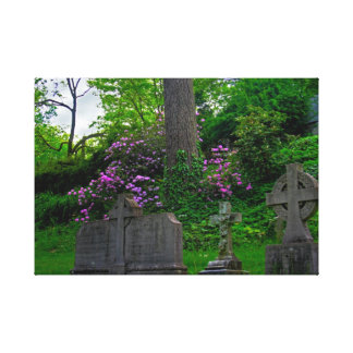 Un resto de los jardines estiró la impresión de la impresiones en lona estiradas