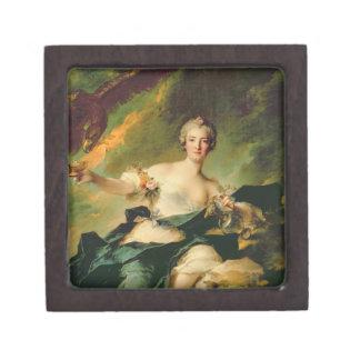 Un retrato de Anne Josephe Bonnnier de la Mossau ( Cajas De Joyas De Calidad