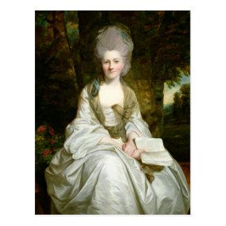 Un retrato de Dorothy Vaughan Postal