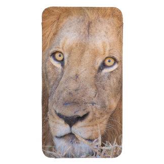 Un retrato de un león bolsillo para galaxy s4