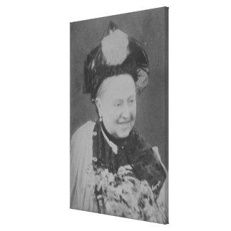 Un retrato del jubileo de la reina Victoria (1819- Impresion De Lienzo
