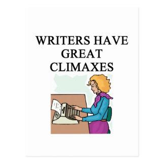 un retruécano para los escritores postales