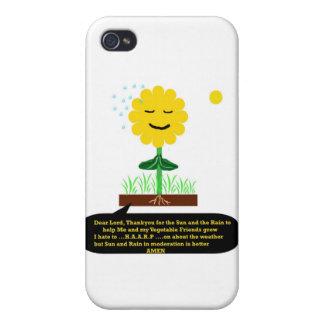 """""""Un rezo de una flor """" * iPhone 4/4S Fundas"""