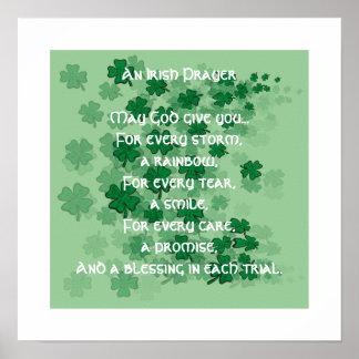 Un rezo irlandés - cada rasgón - una sonrisa impresiones