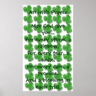 Un rezo irlandés impresiones