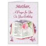 Un rezo para una madre en su cumpleaños felicitaciones