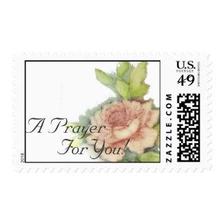 ¡Un rezo para usted! Sello-Personalizar postal Estampilla