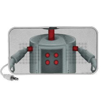 Un robot del juguete iPhone altavoces