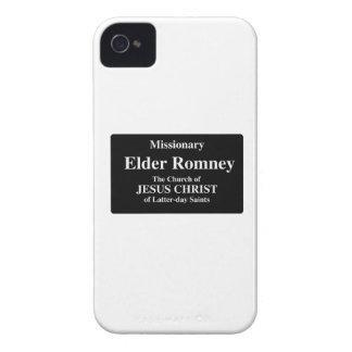 Un Romney más viejo iPhone 4 Case-Mate Fundas