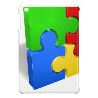 Un rompecabezas junta las piezas del ejemplo del